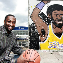 GILBERT ARENAS (BERLINO 2008) X NBA